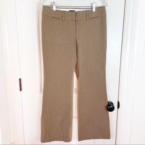 LOFT Petites Beige Marisa Trouser Pants